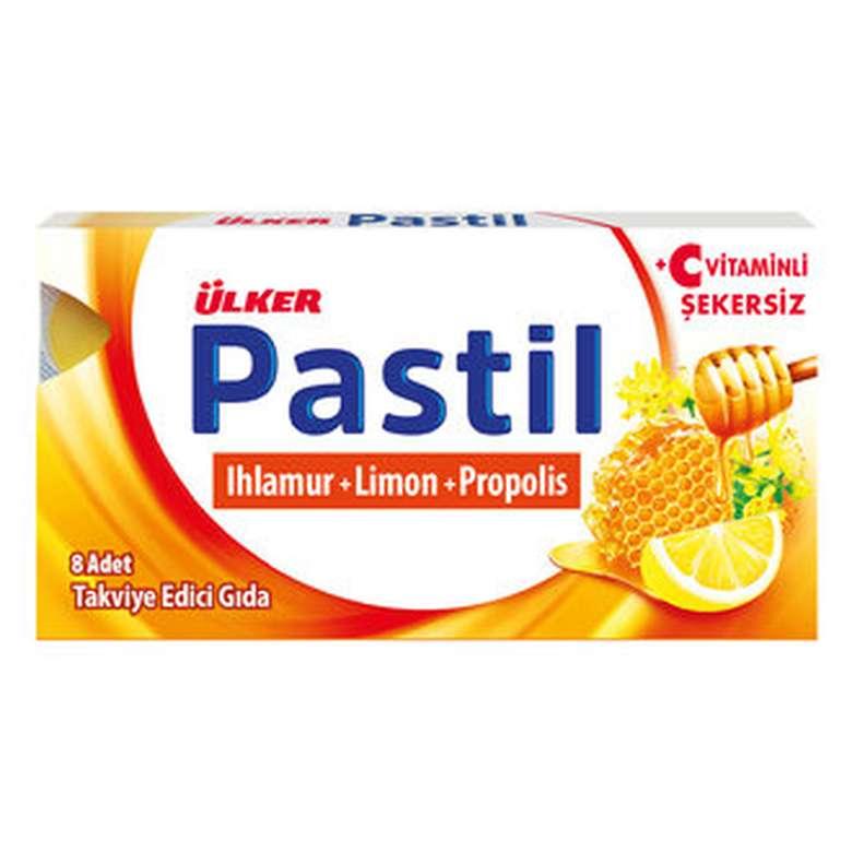 Ülker Pastil Ihlamur, Limon Ve Propolis 8 Adet 22,4 G