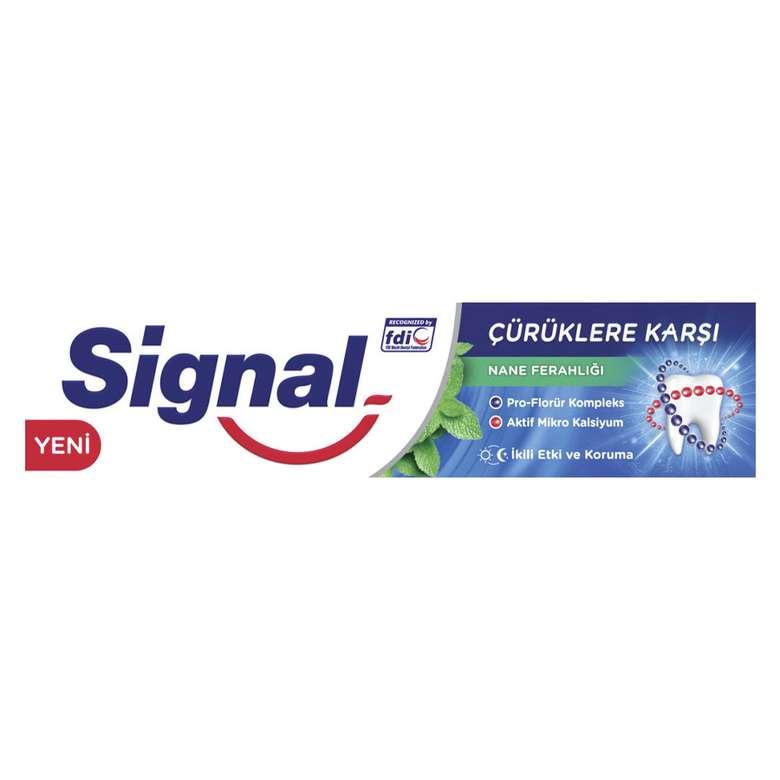 Signal Çürüklere Karşı Nane Ferahlığı Diş Macunu 100 ml