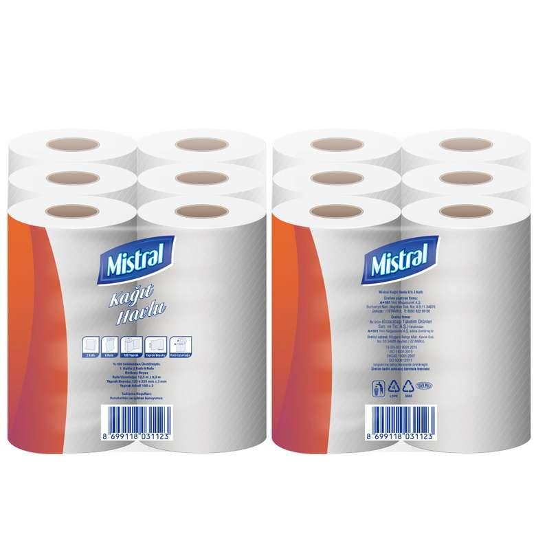 Mistral Kağıt Havlu Çift Katlı 6'lı