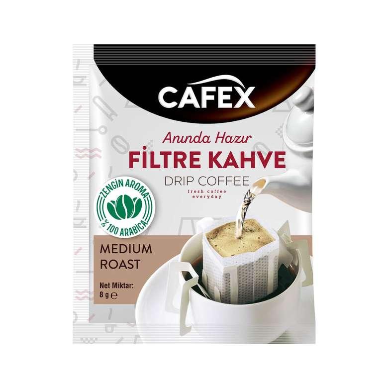 Cafex Filtre Kahve Medium Roast 8 G