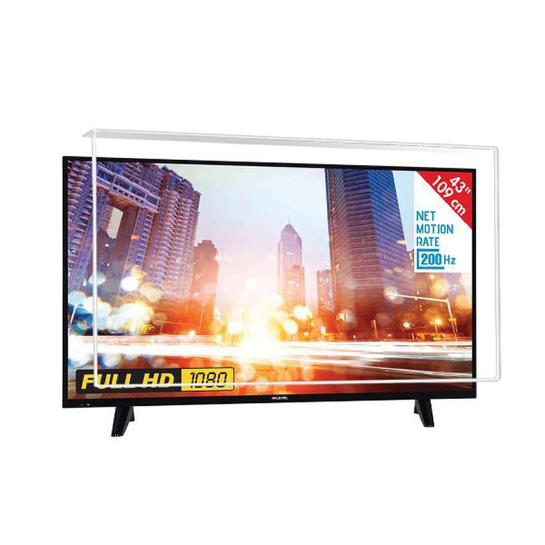 Nunamax 3Mm 43'' (107/108Ekran) Televizyon Ekran Koruyucu/Ekran Koruma Paneli