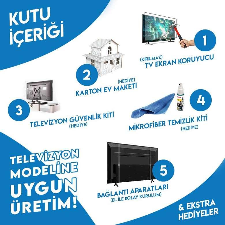 Nunamax 3Mm 23'' (58Ekran) Televizyon Ekran Koruyucu/Ekran Koruma Paneli