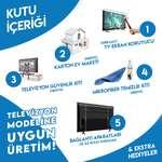 Nunamax 3Mm 50'' (127Ekran) Televizyon Ekran Koruyucu/Ekran Koruma Paneli