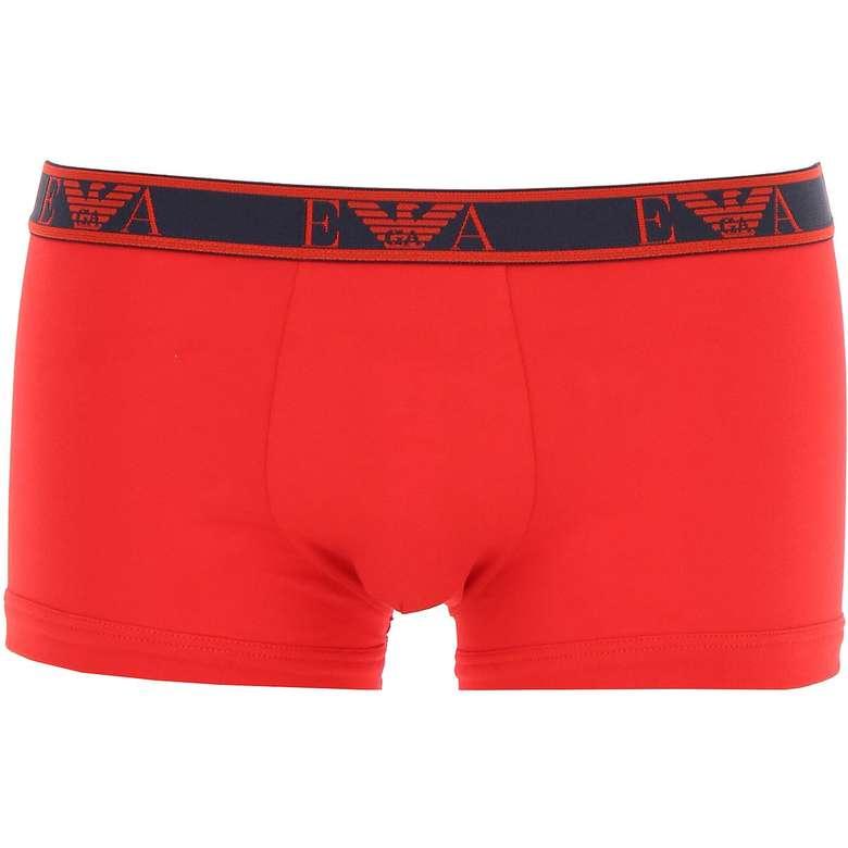 Emporio Armani Erkek Boxer 3'lü Siyah Lacivert Kırmızı