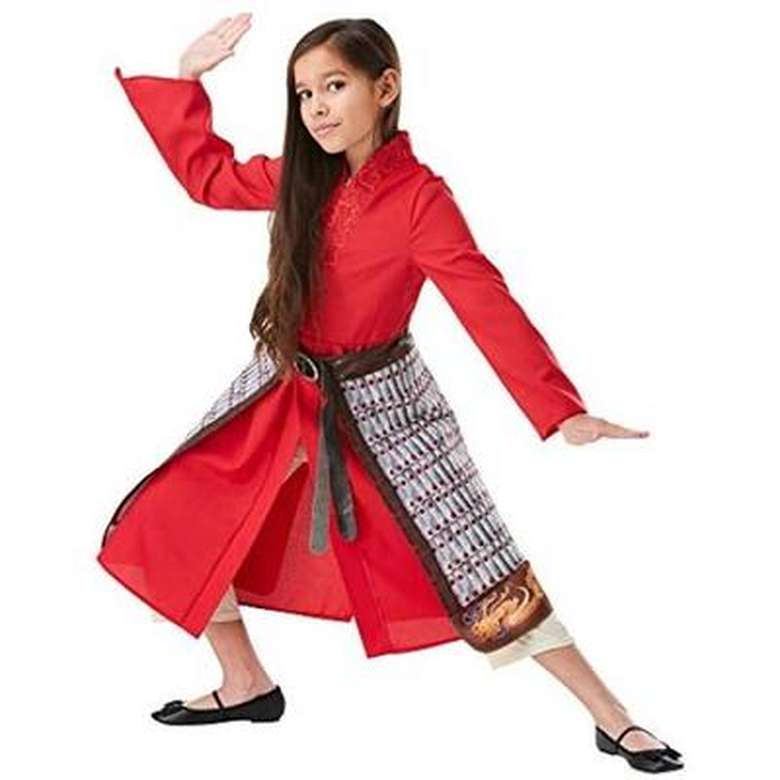 Kostüm Mulan 300827 - Kırmızı, 7-8 Yaş