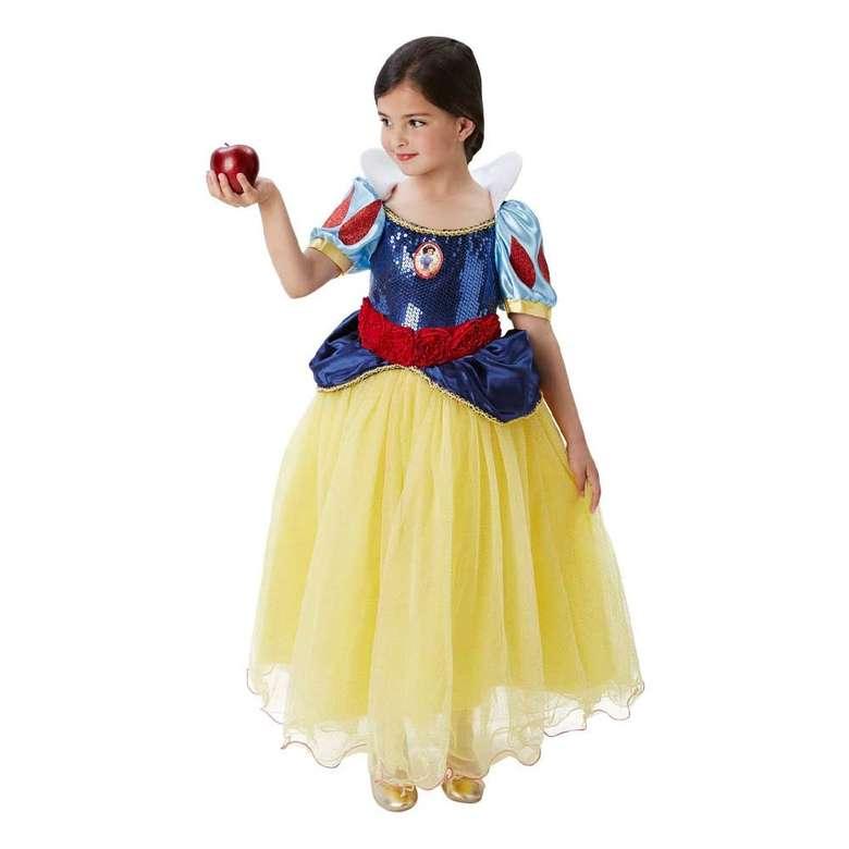 Pamuk Prenses Çocuk Kostümü Sarı