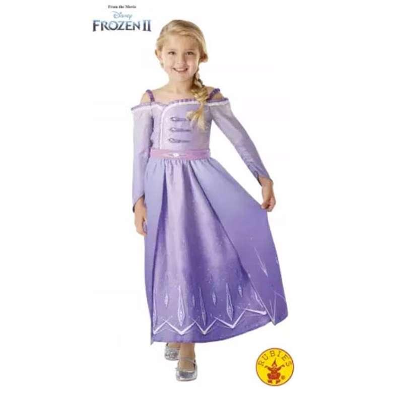 Kostüm Elsa 300460 - Mor, 9-10 Yaş