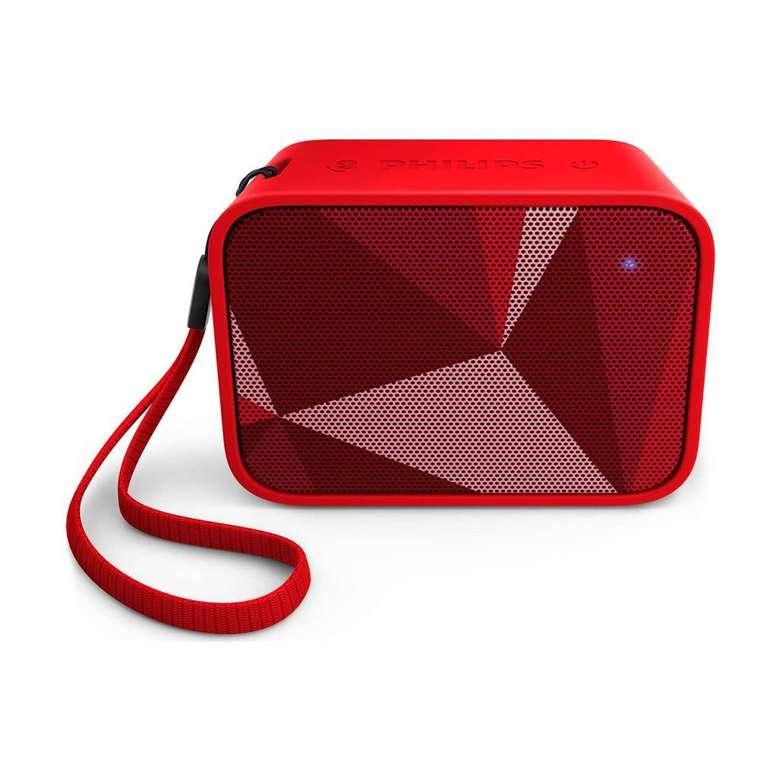 Philips Bt-110R/00 Bluetooth Hoparlör - Kırmızı