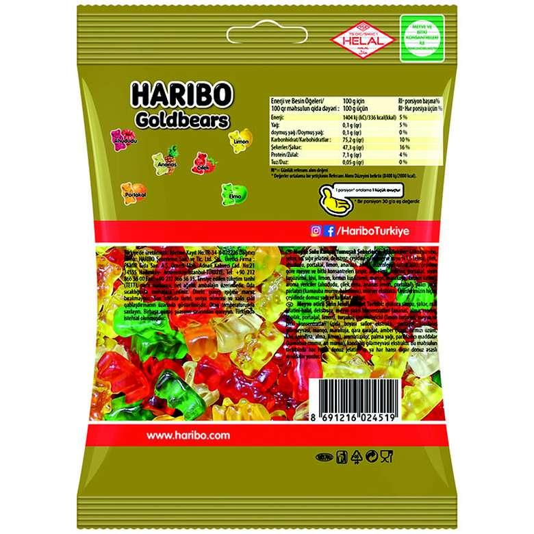 Haribo Yumuşak Şeker 130 G