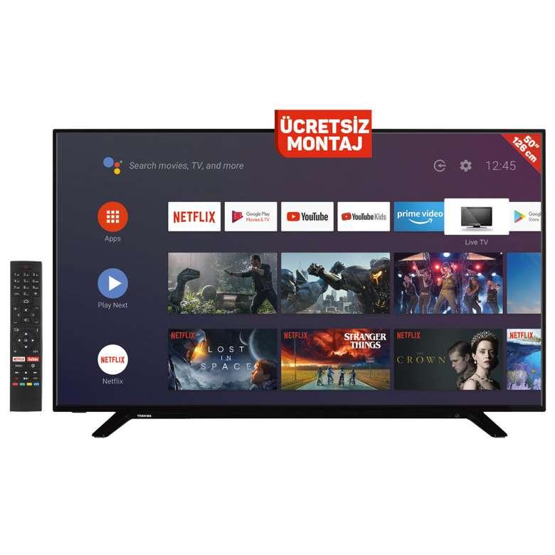 "Toshiba 50UA2063DT 50"" 4K Android Smart Led TV"