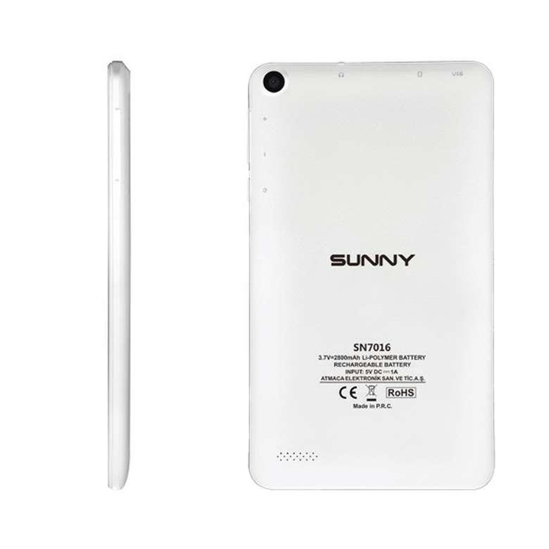 "Sunny Sn-7016 7"" Tablet - Beyaz"