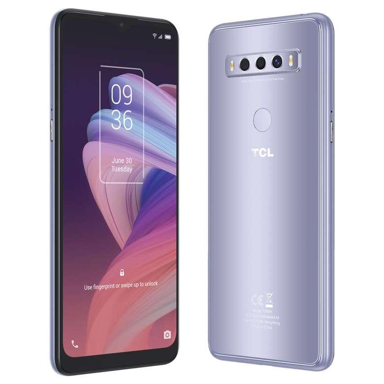 TCL 10SE 128 GB Cep Telefonu - Gümüş