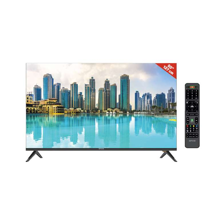 "Onvo OV50F353 50"" Ultra Android Smart Led TV"