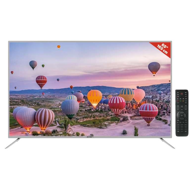 Axen AX65LEDA51-G  65'' Ultra Hd Android Smart Led TV