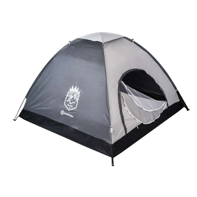 Kamp Çadırı 4 Kişilik 200*200*135 cm -  Gri