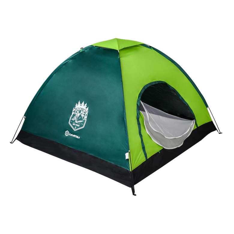 Kamp Çadırı 4 Kişilik 200*200*135 cm - Yeşil