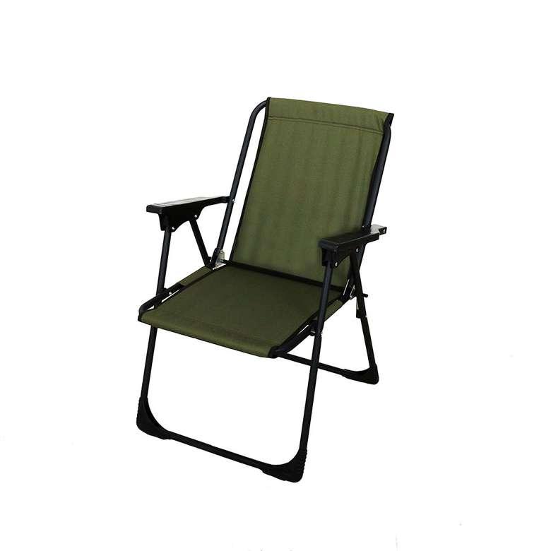 Lüks Katlanabilir Plaj/piknik Sandalyesi - Yeşil