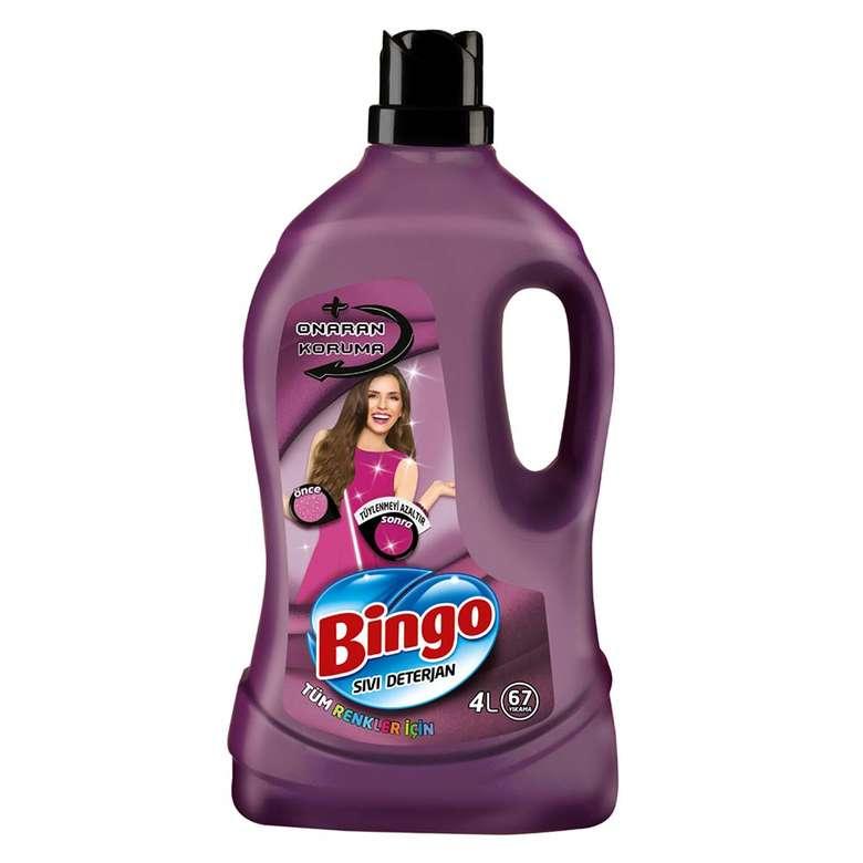 Bingo Sıvı Deterjan Onaran Tüm Renkler 4 L