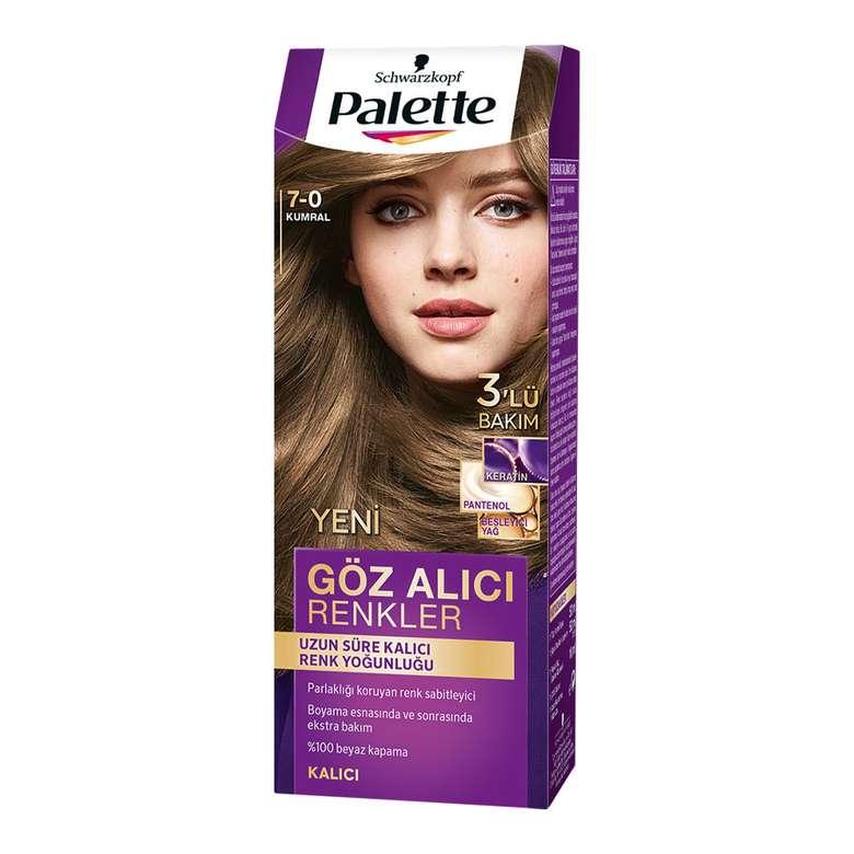 Palette Kumral 7-0 Saç Boyası
