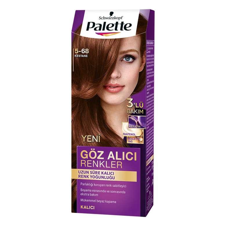 Palette Kestane 5-68 Saç Boyası