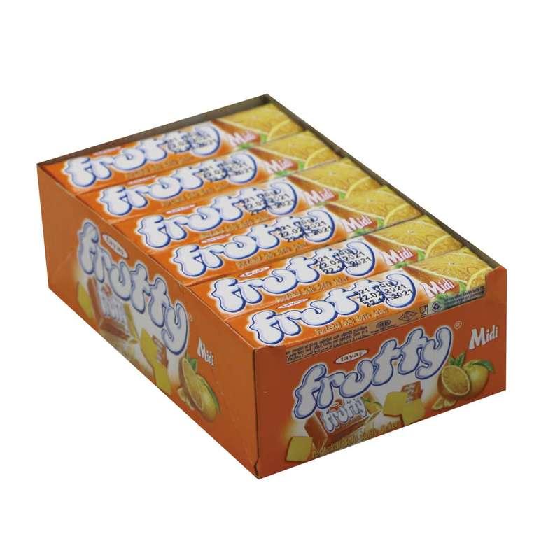 Frutty Midi Toffee Şeker Portakal Aromalı 24X20 G