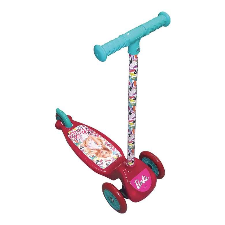 Lisanslı Twistable Scooter 3 Tekerlekli - Barbie