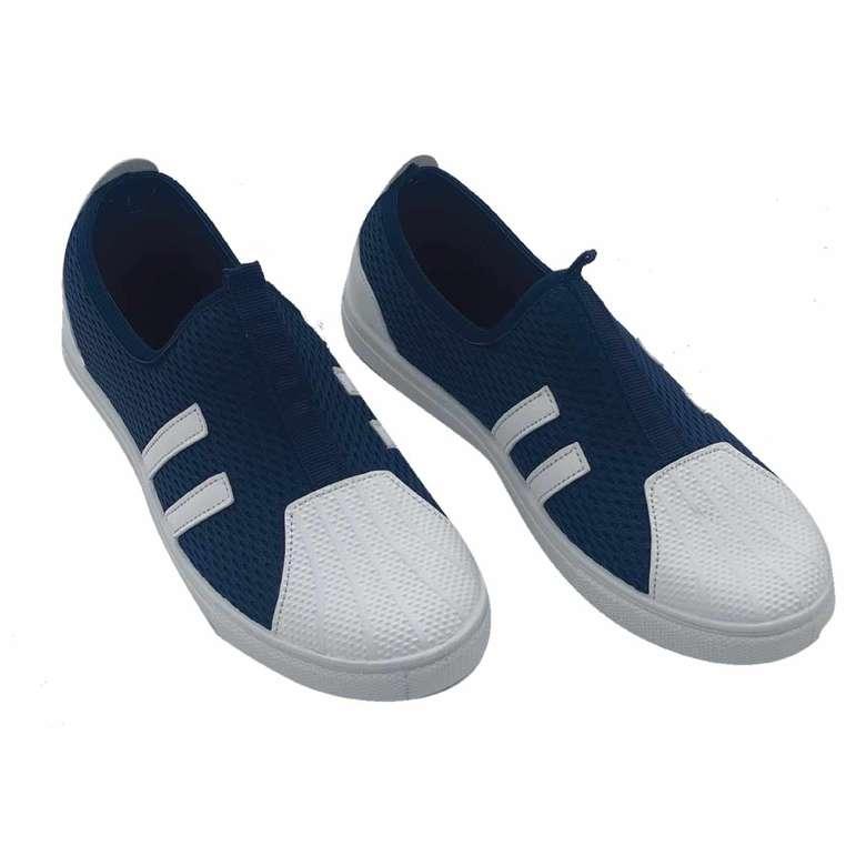 Anne Çocuk Kombin Kadın Ayakkabı Mavi Beyaz