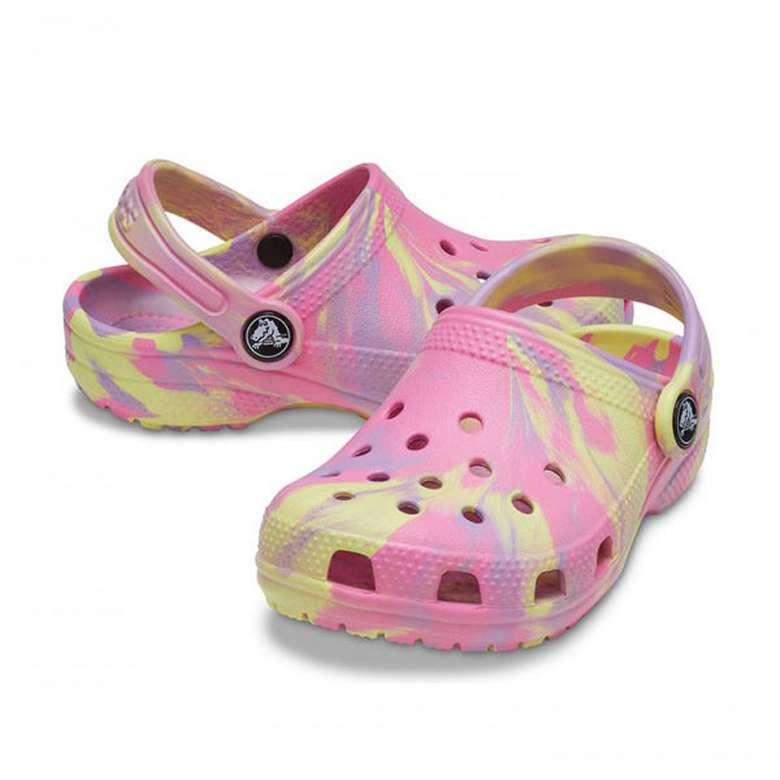 Crocs 207002-6SO Çocuk Terlik - Pembe, 29-30