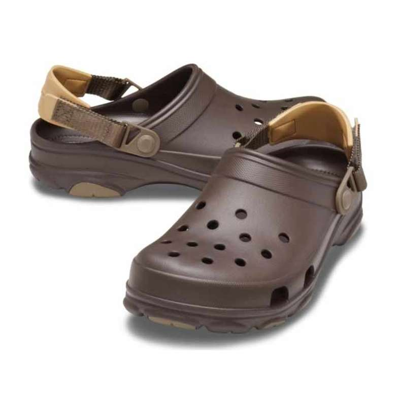 Crocs 206340-206 Erkek Terlik - Kahverengi, 45-46
