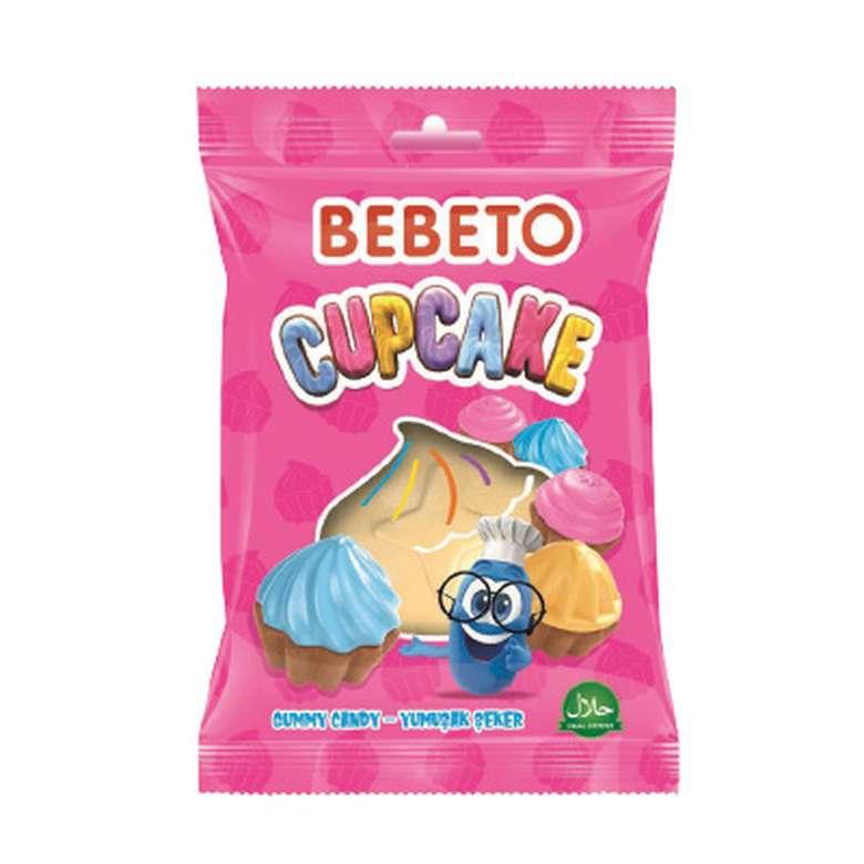 Bebeto Yumuşak Şeker Cupcake 25 G