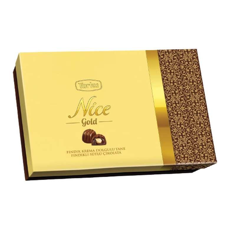Torku Nice Gold Çikolatalı Fındık Kreması Dolgulu 252 G
