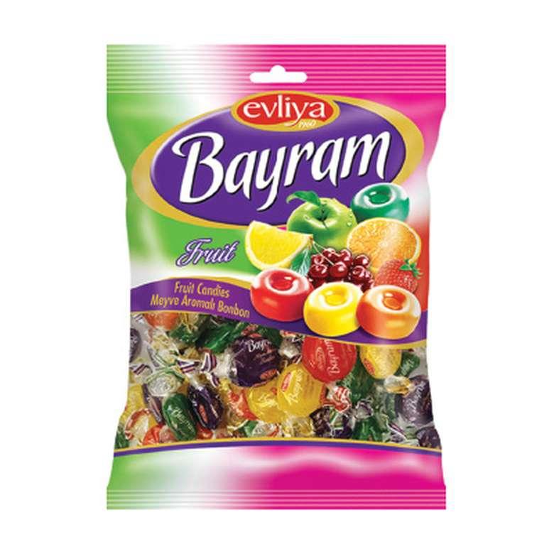 Evliya Bayram Meyve Aromalı Sert Şeker  500 G