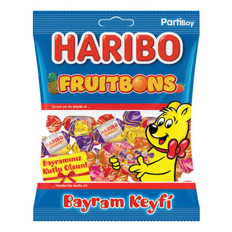 Haribo Fruitbons Yumuşak Şeker 400 G