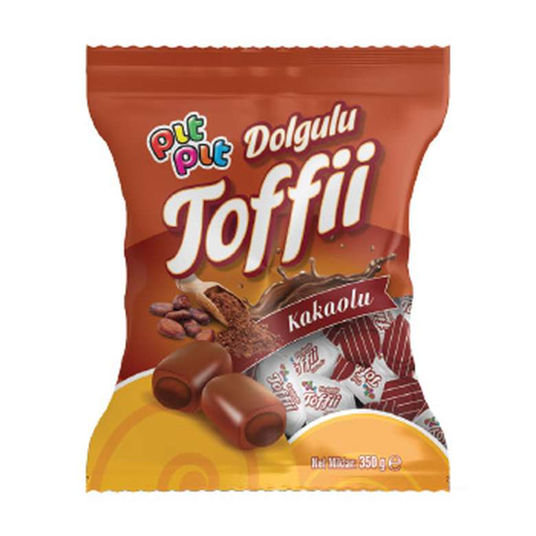 Pıtpıt Yumuşak Şeker Dolgulu Kakaolu 350 G