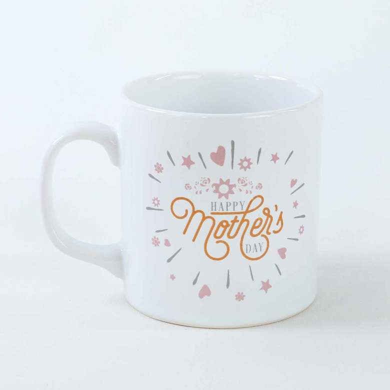 Kupa 335 Ml/Happy Mother'S Day Işıltı