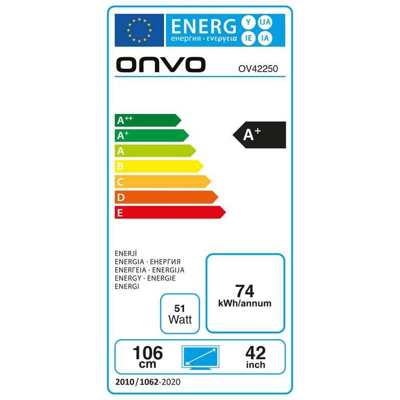 Onvo OV42250 42'' Full Hd Android Smart Led Tv