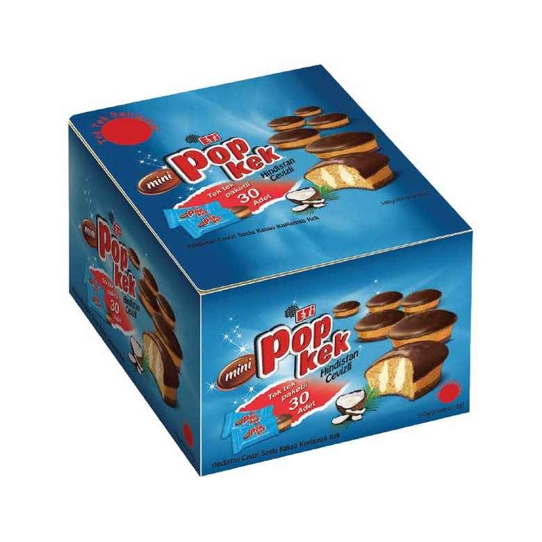 Mini Popkek Kek Hindistan Cevizli 30x18g