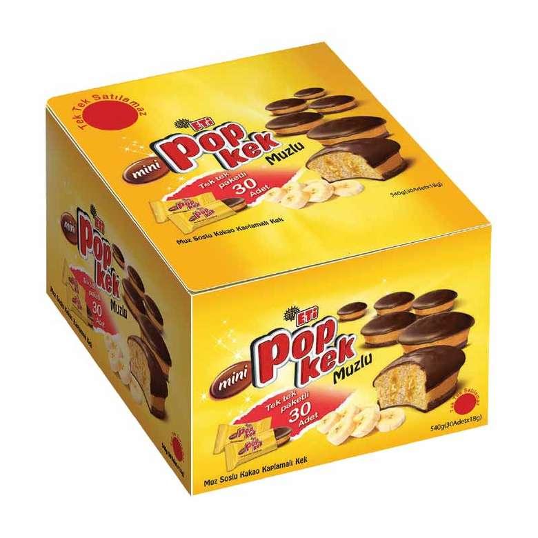 Mini Popkek Kek Limonlu 30x18g
