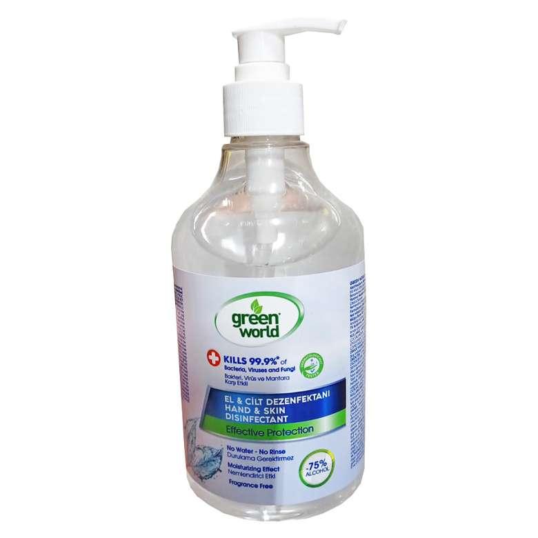 Green World El Ve Cilt Dezenfektanı 500 Ml