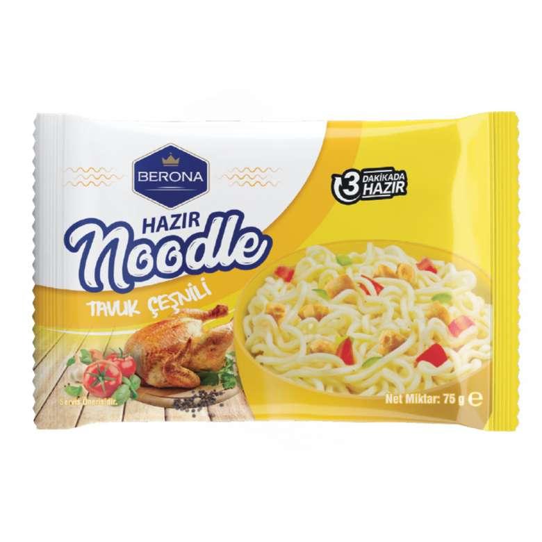Berona Noodle Paket Tavuklu 75 G