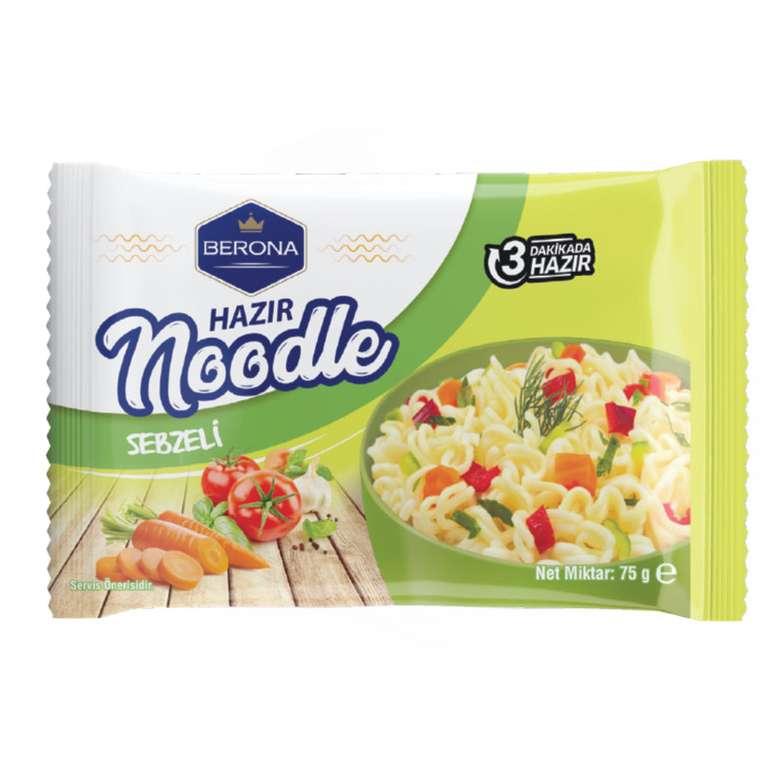 Berona Sebzeli Noodle Paket 75 G