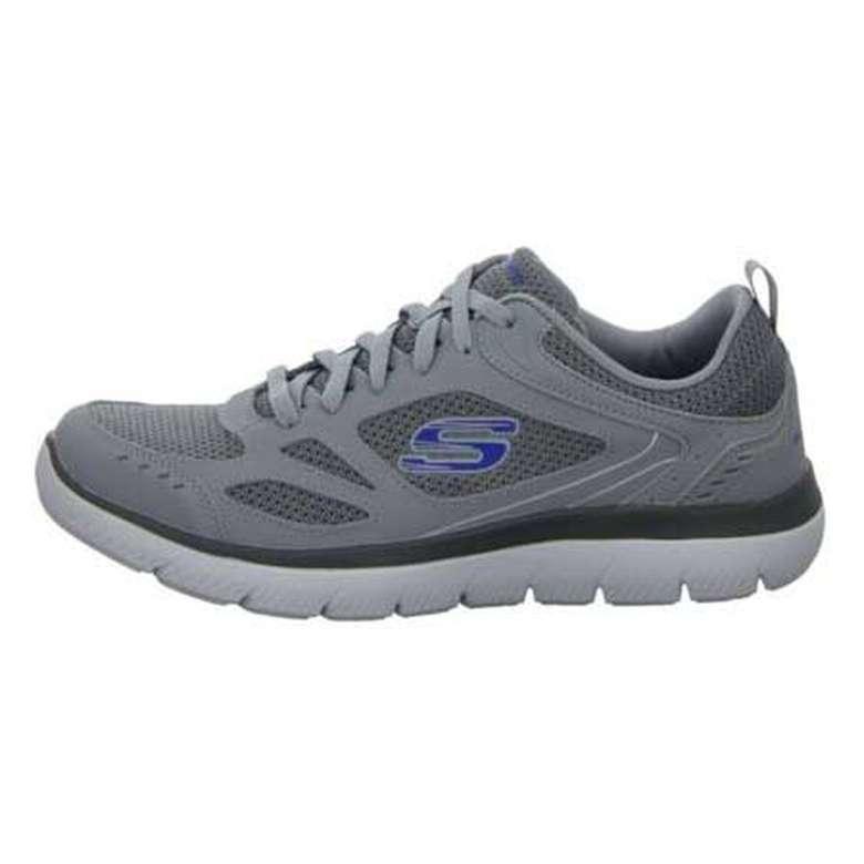 Skechers 52812-Gry Erkek Ayakkabı - Gri, 41