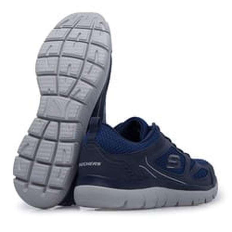 Skechers 52812-Nvy Erkek Ayakkabı - Lacivert, 40