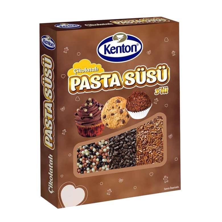 Kenton Pasta Süsü Dekor Kahverengi 60G