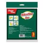 Clean & Funtemizlik Bezi Mf 30X30 Cm 3'Lü