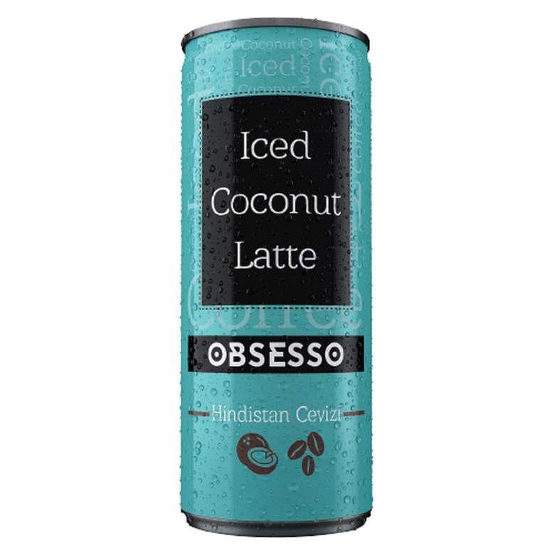 Obsesso Soğuk Kahve Coconut Latte 250 Ml