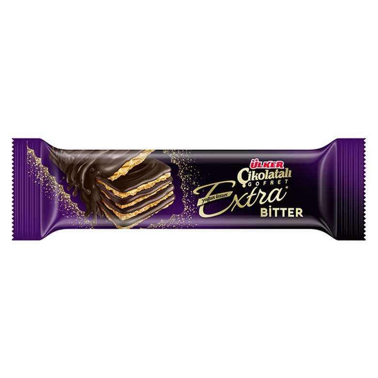Ülker Gofret Ekstra Bitter Çikolata 45 G