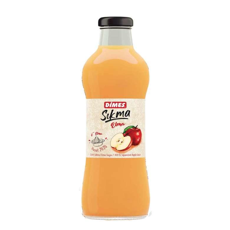 Dimes Sıkma Meyve Suyu Elma 700 Ml
