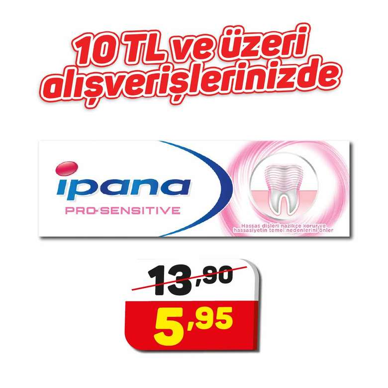 Ipana Diş Macunu Pro-Sensitivite 75 Ml