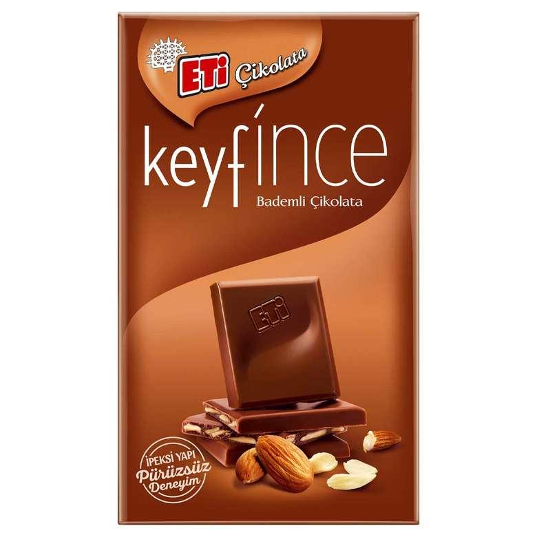 Eti Keyfince Çikolata File Bademli 27 G
